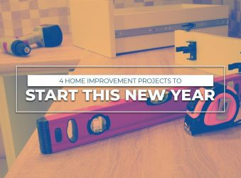 4 Home Improvement Projects to Start This New Year